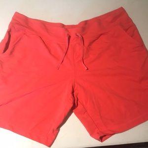 Women's Danskin Shorts. Size XL 16/18 Salmon color